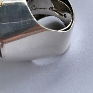 Rebecca Collins Jewelry - Rebecca Collins Coral and Sterling Statement Ring
